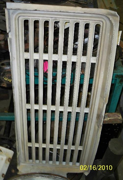MISCELLANEOUS PARTS Grille