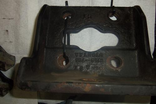 MISCELLANEOUS PARTS Engine Mounts