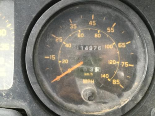 GMC T8500 Instrument Cluster