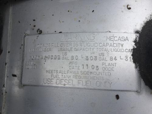 INTERNATIONAL TRANSTAR 8600 Fuel Tank