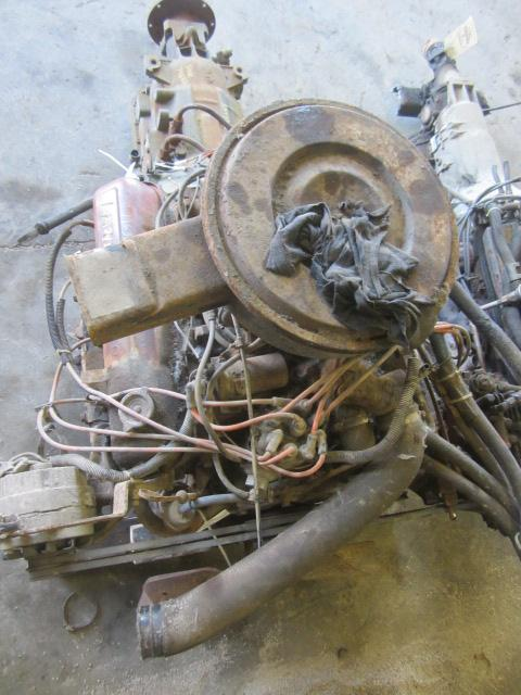 INTERNATIONAL 345 Engine Assembly
