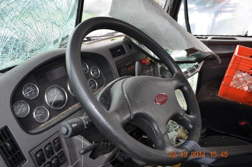 PETERBILT 337 Steering Column