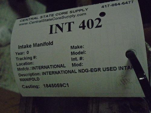 INTERNATIONAL  Intake Manifold