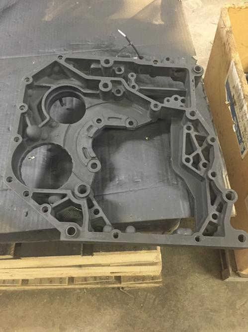 CUMMINS ISB (6.7) Front Cover