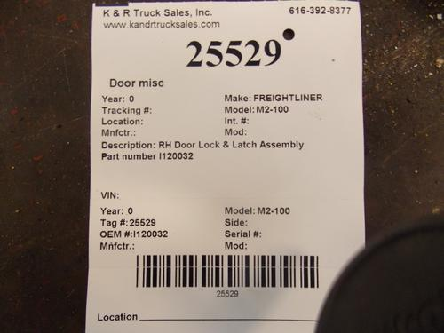 FREIGHTLINER M2-100 Door Window Regulator, Front