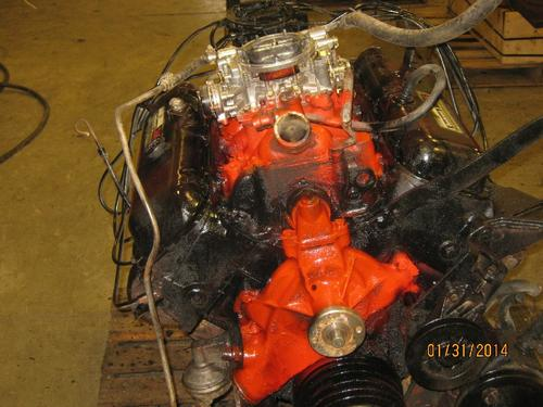GM 366 GAS Engine Assembly