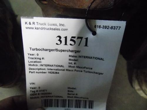 INTERNATIONAL MaxxForce Turbocharger / Supercharger