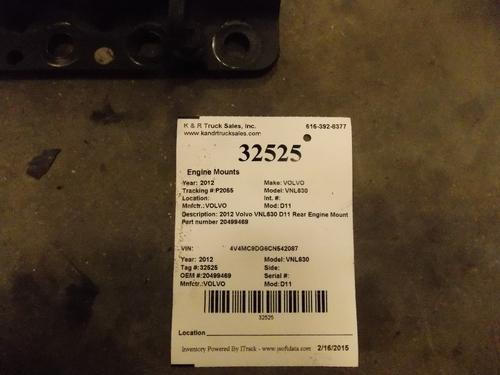 VOLVO VNL630 Engine Mounts