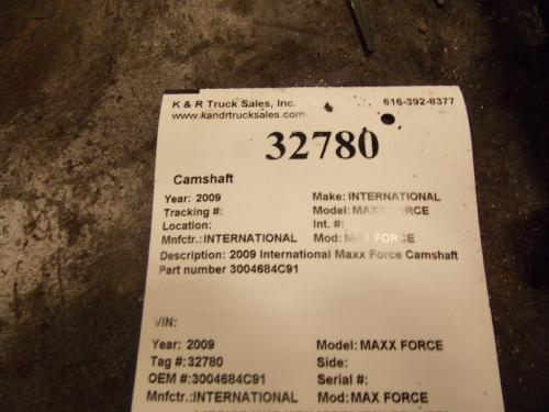 INTERNATIONAL MAX FORCE Camshaft