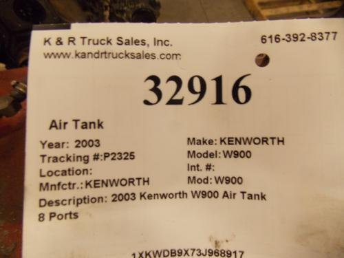 KENWORTH W900 Air Tank