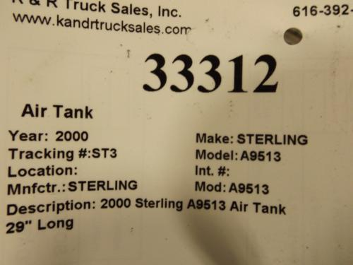STERLING A9513 Air Tank