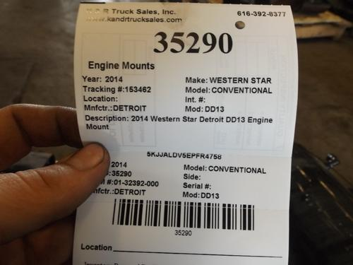 WESTERN STAR CONVENTIONAL  Engine Mounts