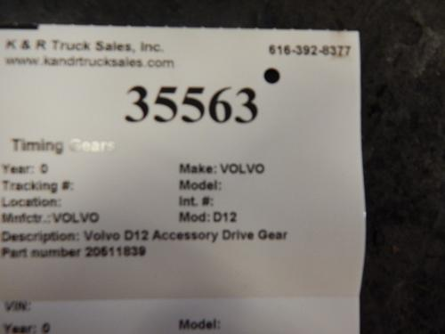 VOLVO D12 Timing Gears
