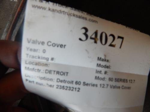 DETROIT 60 SERIES 12.7 Valve Cover