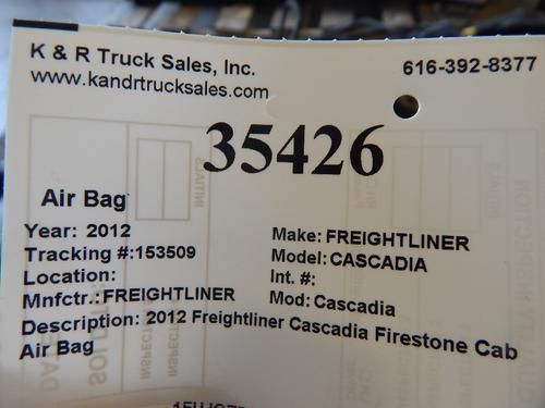 FREIGHTLINER CASCADIA Air Bag (Safety)