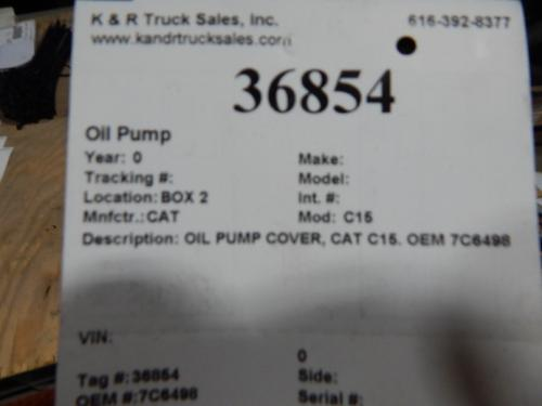 CAT C15 Oil Pump