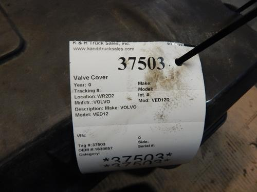 VOLVO VED12D Valve Cover