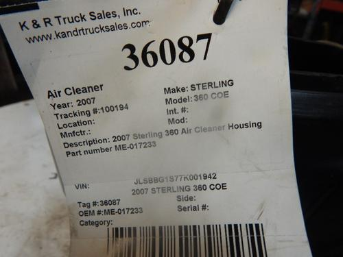 STERLING 360 COE Air Cleaner
