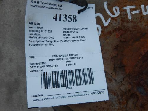 FREIGHTLINER FL112 Air Bag (Safety)