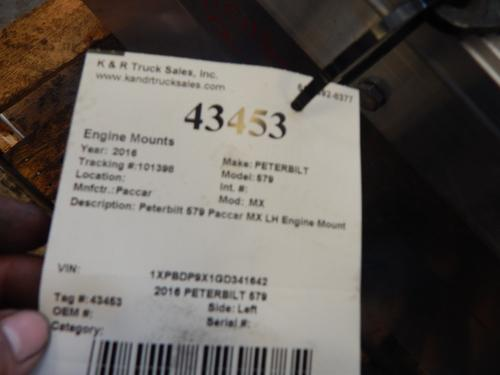 PETERBILT 579 Engine Mounts