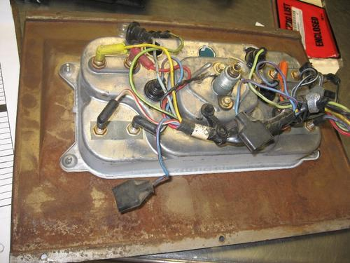 FORD LN600 Instrument Cluster