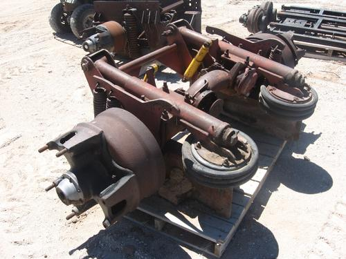 AXLES PUSHER - NON-STEER Equipment (Mounted)