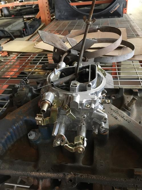 FORD 391 Carburetor
