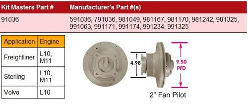 CUMMINS M11-HortonHTS_791036 Fan Clutch
