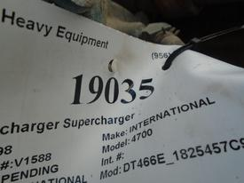 INTERNATIONAL DT466E_1825457C91 Turbocharger / Supercharger