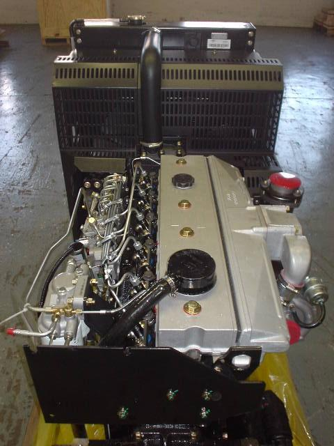 PERKINS 1006-6TZ Engine Assembly