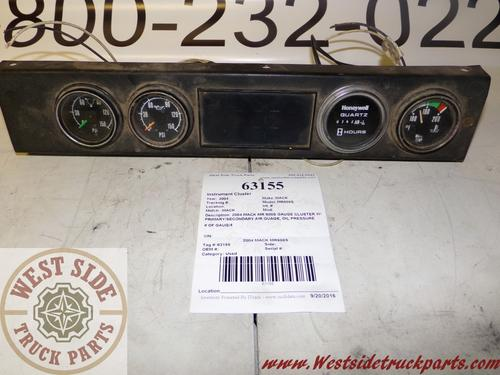 MACK MR688S Instrument Cluster