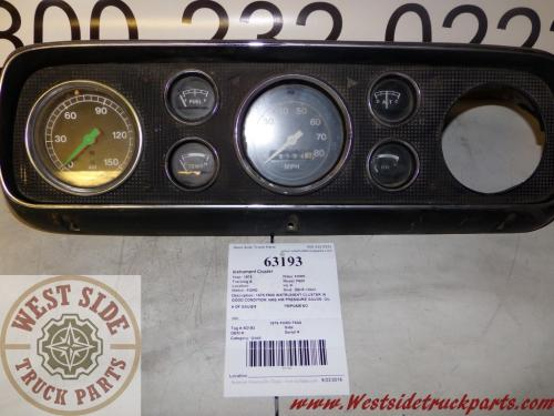 FORD F600 Instrument Cluster